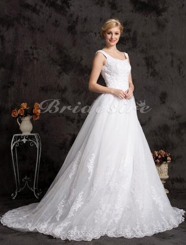 Bridesire robe de bal organza satin tra ne mi longue for Don de robe de mariage michigan
