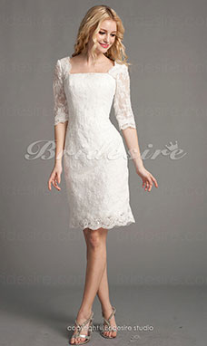 Robe de mariee manches longues