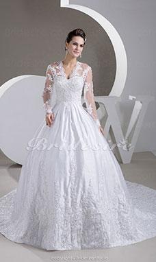 robe de mariee avec manche