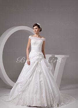 Bridesire Robe De Mariage Dentelle Confortable Et Belle Pour Toutes Sortes De Lieux De Mariage