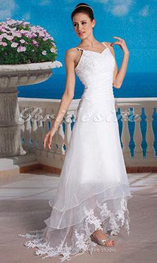 Patron robe de mariee col bateau