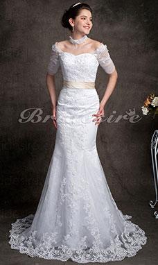 Bridesire - Robes de mariage de style sirène  Robes magnifiques pour ... 61d4a40a8bc9