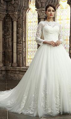 04f9f4b2fc590 Bridesire - Robe de mariage dentelle: confortable et belle pour ...