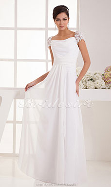 Robe rose pale mariage boheme
