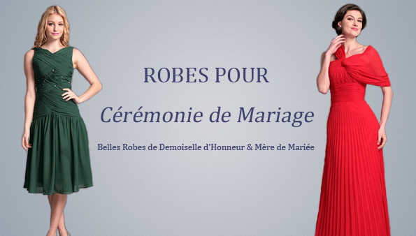 Robe ceremonie senior